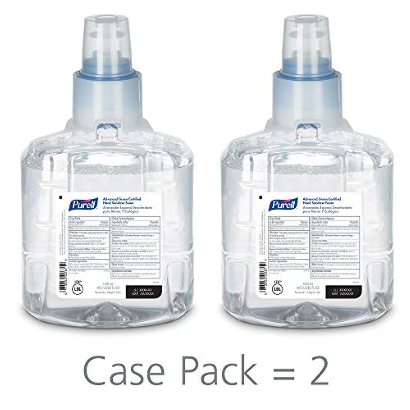ハンマー絞るボルトPURELL 1904-02 1200 mL Advanced Green Certified Instant Hand Sanitizer Foam, LTX-12 Refill (Pack of 2) by Purell