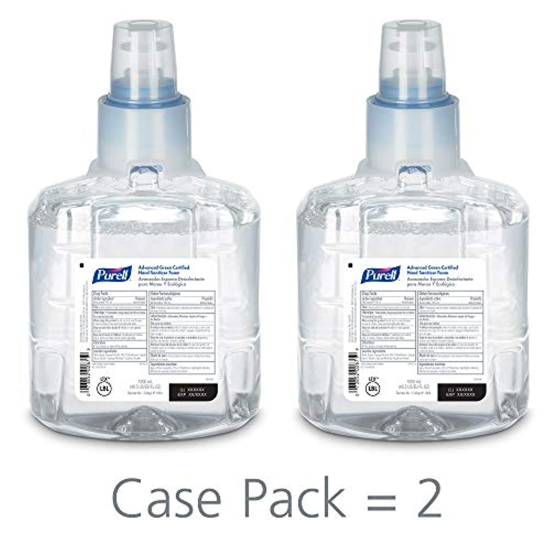祈る最後のブルPURELL 1904-02 1200 mL Advanced Green Certified Instant Hand Sanitizer Foam, LTX-12 Refill (Pack of 2) by Purell