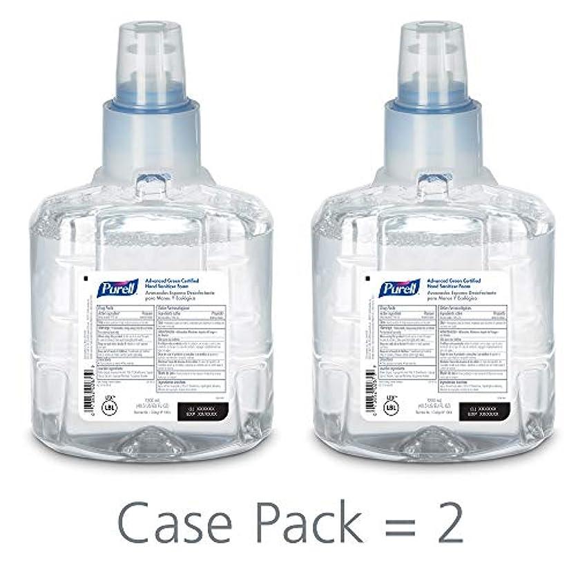 義務的ボーダー広範囲PURELL 1904-02 1200 mL Advanced Green Certified Instant Hand Sanitizer Foam, LTX-12 Refill (Pack of 2) by Purell
