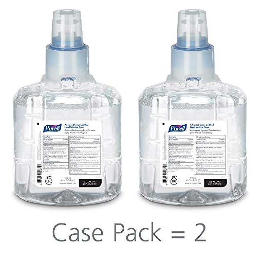 重なる侵入する少なくともPURELL 1904-02 1200 mL Advanced Green Certified Instant Hand Sanitizer Foam, LTX-12 Refill (Pack of 2) by Purell