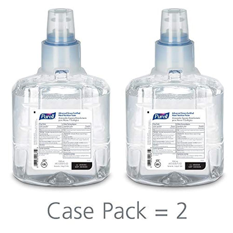 バター攻撃的鯨PURELL 1904-02 1200 mL Advanced Green Certified Instant Hand Sanitizer Foam, LTX-12 Refill (Pack of 2) by Purell