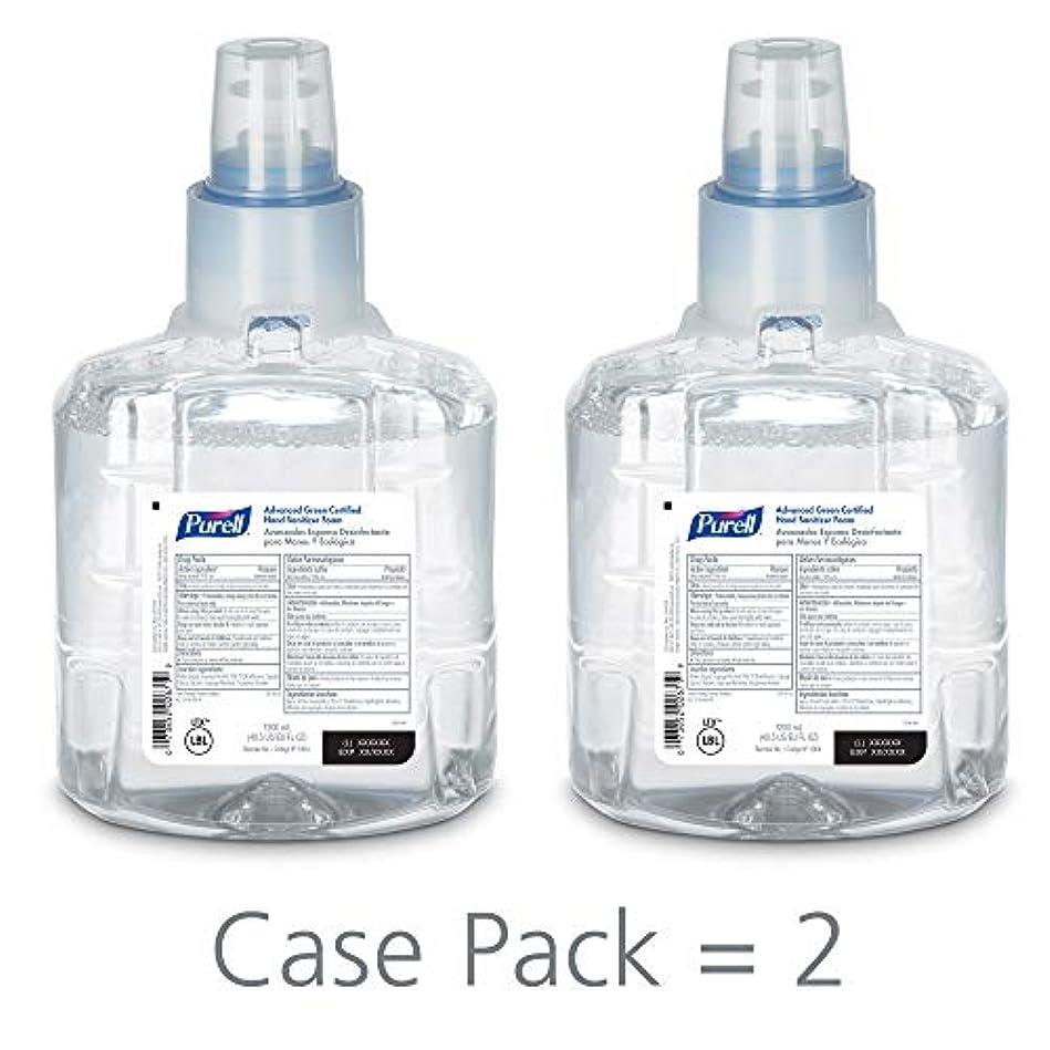 考古学者寺院政策PURELL 1904-02 1200 mL Advanced Green Certified Instant Hand Sanitizer Foam, LTX-12 Refill (Pack of 2) by Purell