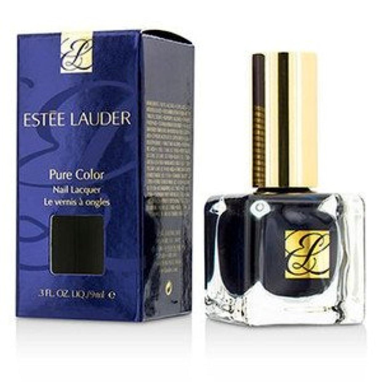 最初枯渇する女王ESTEE LAUDER(エスティローダー) ピュア カラー ネイル ラッカー - #GM Blue Blood 9ml/0.3oz [並行輸入品]