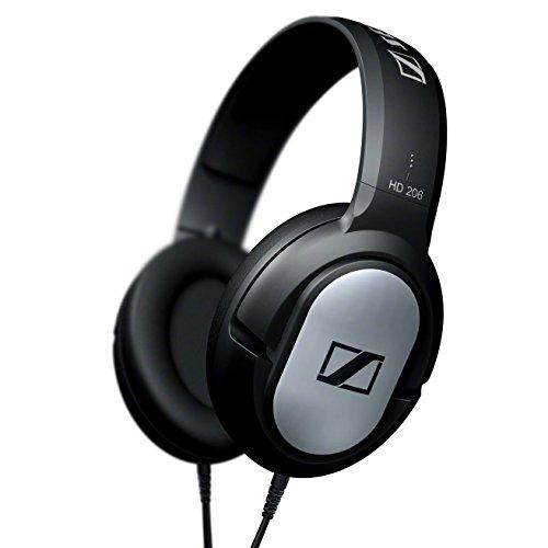 ゼンハイザー 密閉型ヘッドフォン HD 206【国内正規品】