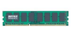 BUFFALO PC3-12800(DDR3-1600)対応 240Pin DDR3 SDRAM DIMM デスク用 4GB D3U1600-4G/E