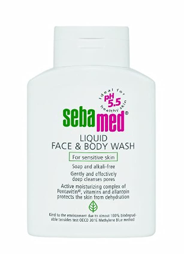 悲しい夏適応Sebamed Liquid Face & Body Wash 200ml (Pack of 2)
