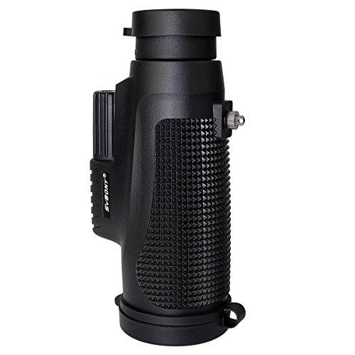 SVBONY 単眼鏡 防水 防湿、防塵と防霧 コンパクト BK7 (10x42)