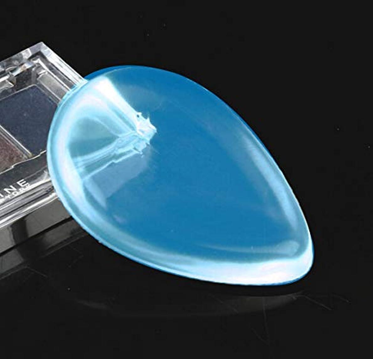 鏡デュアルゲインセイDOMO シリコンパフ 透明 清潔しやすい メイクスポンジ ゲルパフ ゼリーパフ化粧品 ファンデーション メークアップツール
