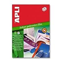 【APLI】インクジェットA4ポリエステル紙 (AP-01386)