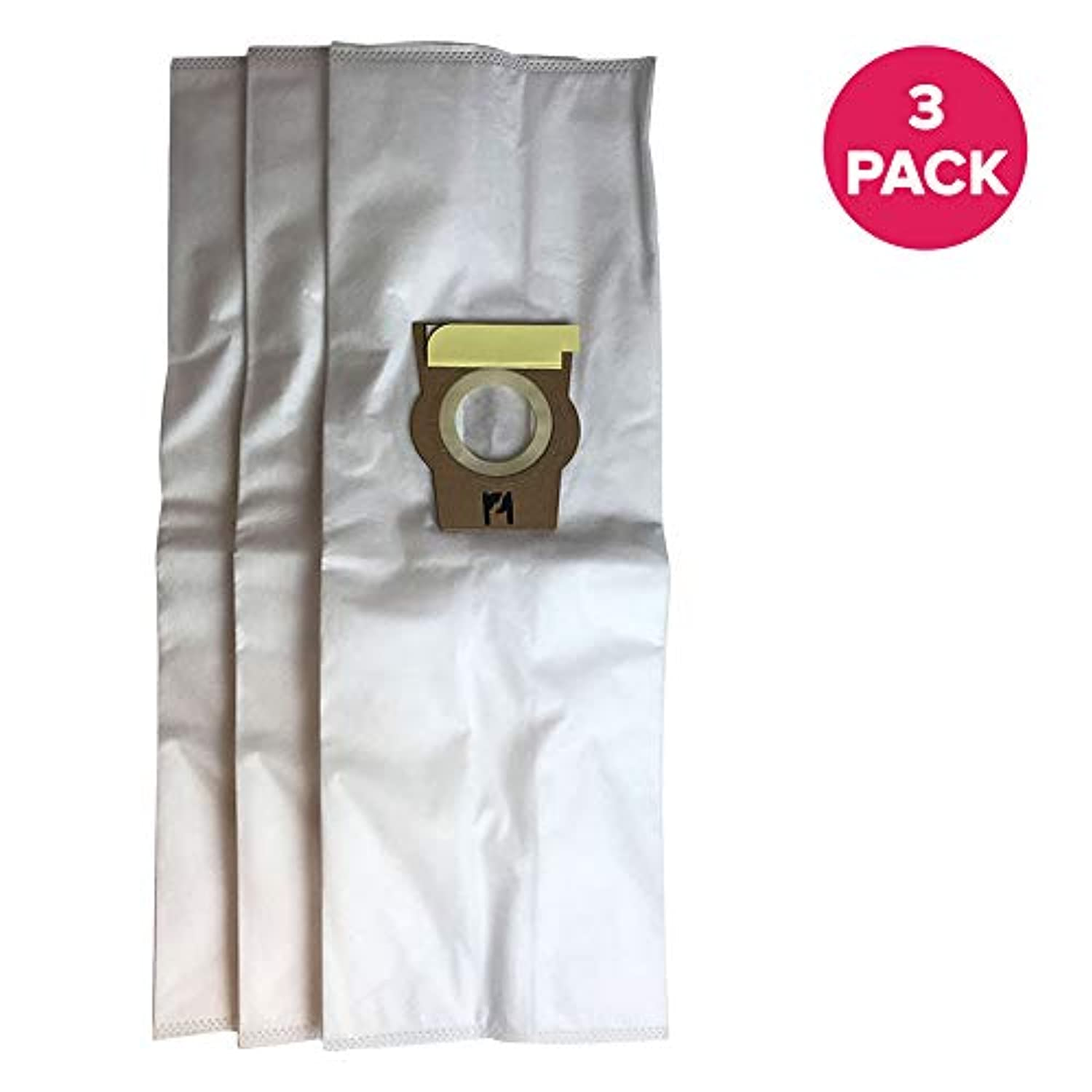3 Kirby F Style Allergen Filtration Vacuum Cleaner Bags Designed To Fit Kirby Style F Ultimate G Diamond Edition, Ultimate G series, Gsix Vacuums. Part 204808; Designed & Engineered by Crucial Vacuum