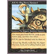 Magic: the Gathering - B.F.M. 1 (Big Furry Monster) - Unglued