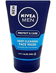 [Nivea ] ニベアの男性深いクリーニング洗顔の100ミリリットル - Nivea Men Deep Cleaning Face Wash 100ml [並行輸入品]