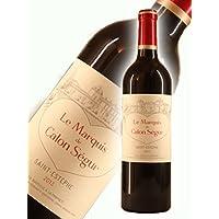 ル・マルキ・ド・カロン・セギュール [2013] 750ml 赤ワイン フルボディ [2013年からラベルデザインが一新!]