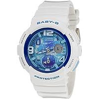 Baby-G White and Blue Digital Analogue Series Ladies Watch BGA190GL-7B