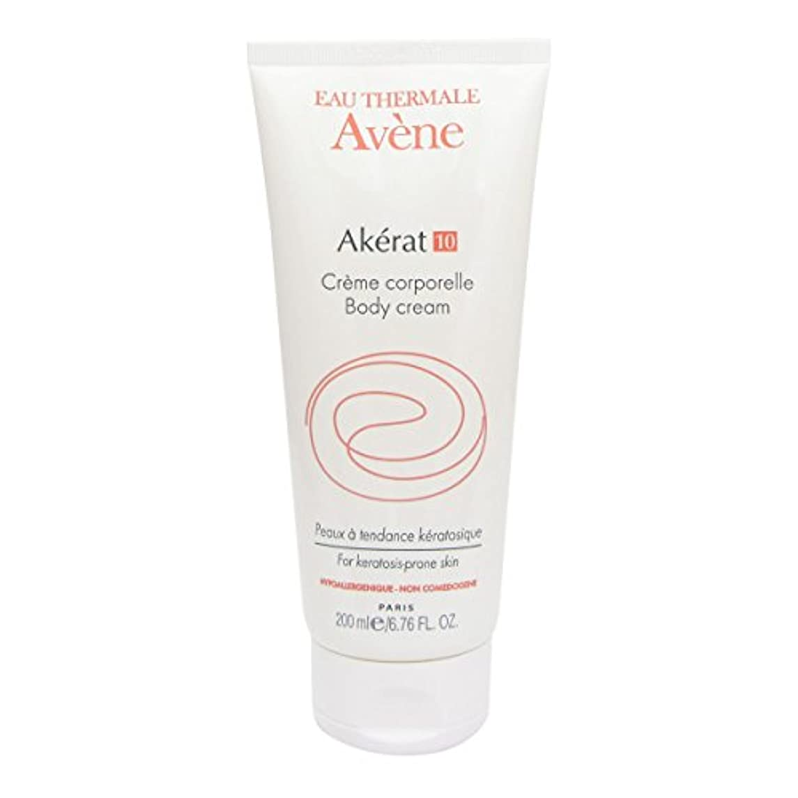 Avene Akerat 10 Body Cream 200ml [並行輸入品]