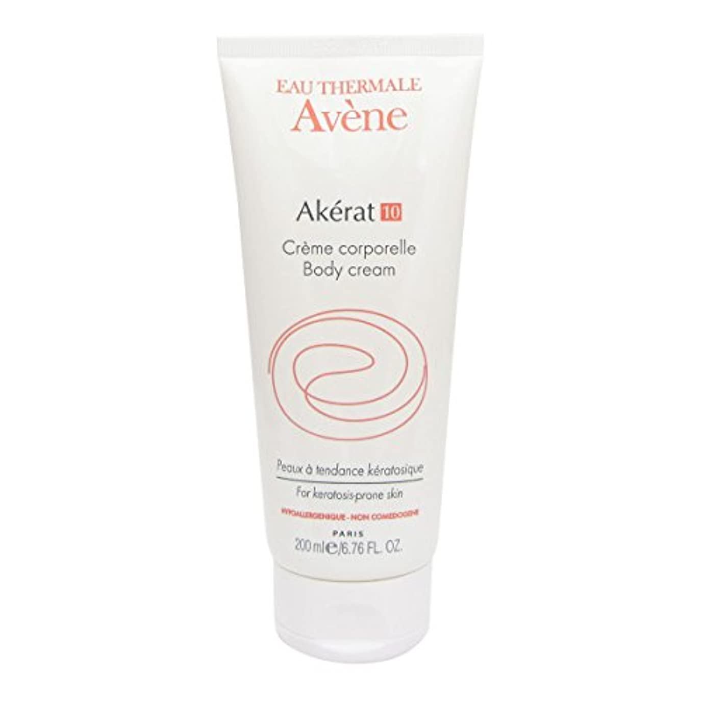 廃棄する対意図するAvene Akerat 10 Body Cream 200ml [並行輸入品]