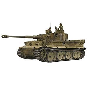 プラッツ 1/35 第二次世界大戦 ドイツ軍 ティーガーI 極初期生産型 ドイツアフリカ軍団 第501重戦車大隊 第1中隊 1942/43 チュニジア プラモデル DR6608