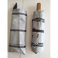 ルイヴィトン LOUIS VUITTON ルイヴィトン美術館限定 折りたたみ傘 自動開閉 男女兼用 [並行輸入品]