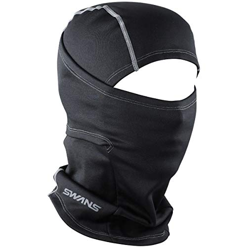 SWANS(スワンズ) フェイスマスク バラクラバ 防寒用マスク フリーサイズ HA-35 BK フリーサイズ
