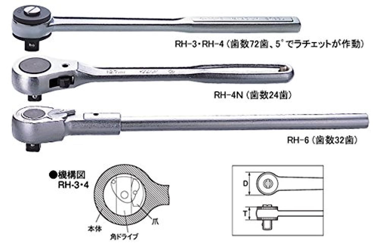 TOP トップ工業 RH-4 ラチェットハンドル
