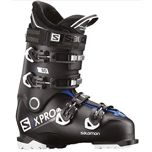 SALOMON(サロモン) スキーブーツ メンズ X PRO 80 (エックスプロ 80) 2018-19年モデル L40551500 Black/Raceblue/Wh 25/25.5cm