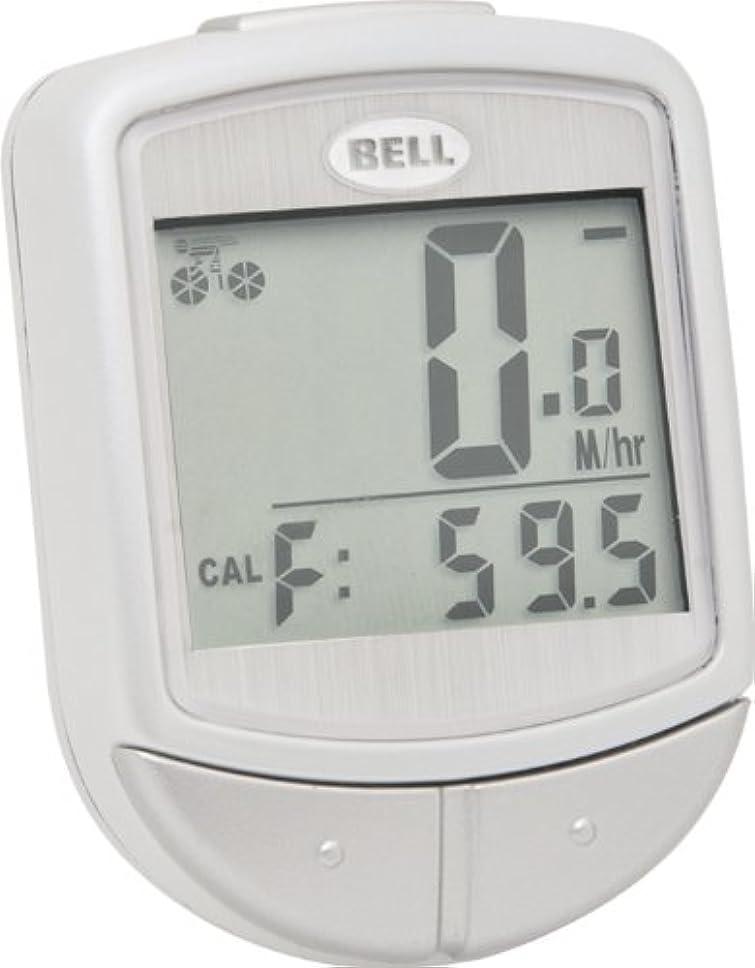 薄めるリラックス遺体安置所Bell Digital Wireless F15 Cyclocomputer (White) by Bell
