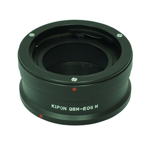 KIPON マウント変換アダプター QBM-EOS M ローライQBMマウントレンズ - キヤノンEOS Mマウントボディ用 014080 QBM-EOS M