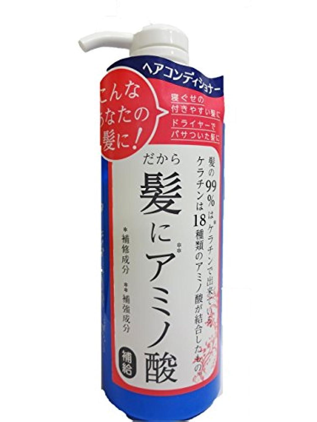 鍔うるさいテニスビピット アミノ酸コンディショナー 500ml
