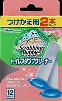 【お徳用】ジョンソン スクラビングバブル トイレスタンプクリーナー フローラルハーブの香り つけかえ用2個パック トイレ用洗剤×12点セット (4901609005075)