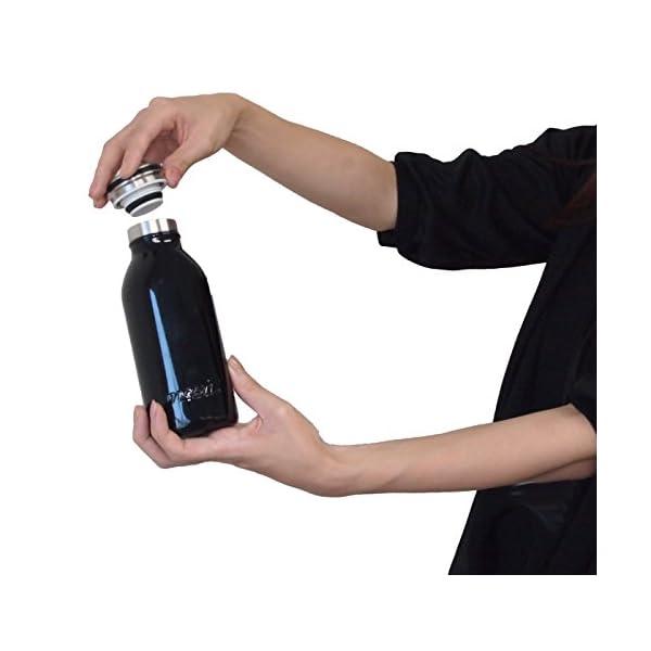 水筒 真空断熱 スクリュー式 マグ ボトル 0...の紹介画像8