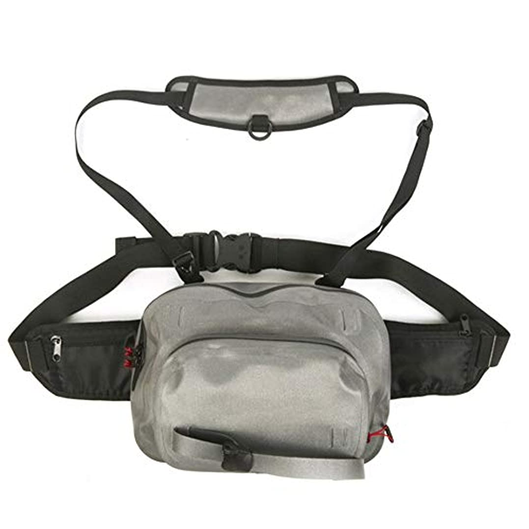 できればキノコ油LYgMV 防水多機能フライフィッシングバックパック全サイズサドルバッグショルダーバッグフィッシングフィッシングバッグ