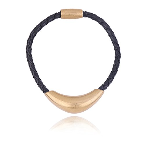 [해외]DUOYUN 여성 가죽 팔찌 인기 스테인레스 스틸 팔찌/DUOYUN Women`s Leather Bracelets Popular Stainless Steel Bangle