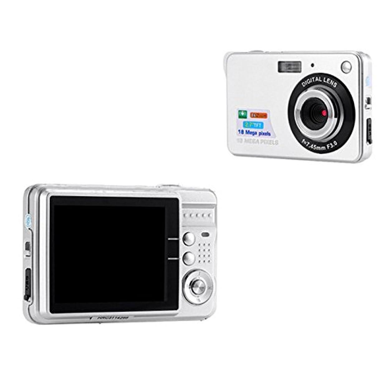摘むメロドラマティック難民TOPmountain 720P 8倍ズームHDデジタルカメラデジタルビデオカメラ、ポイントとシュートデジタルカメラキッズOutdoorr - ホワイト