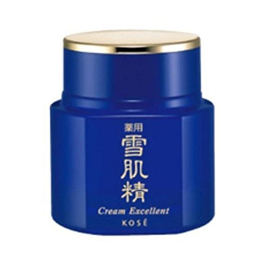 ボイコットノベルティ磁器コーセー 薬用 雪肌精 クリーム エクセレント 50g