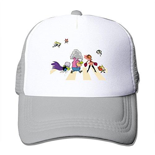 KY 恋人用 大人着 ファッション 帽子 登山 レジャー・キャップ ソフト 日焼け止め 紫外線防止 個性的な パワーパフガールズ カートン 人形 ポスター Ash