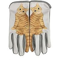 Zhongyuタッチ画面携帯電話PC手袋Novel Catsテールスイング冬手袋
