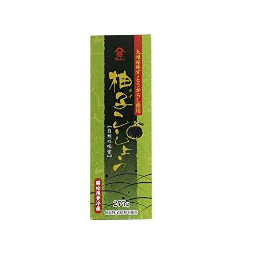 フジシン チューブタイプ 柚子こしょう 275g 九州産ゆず・とうがらし使用
