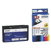 == まとめ == / エプソン/EPSON/インクカートリッジ/カラー == 4色一体型 == / 大容量タイプ / ICCL45B / 1個 / - ×3セット -