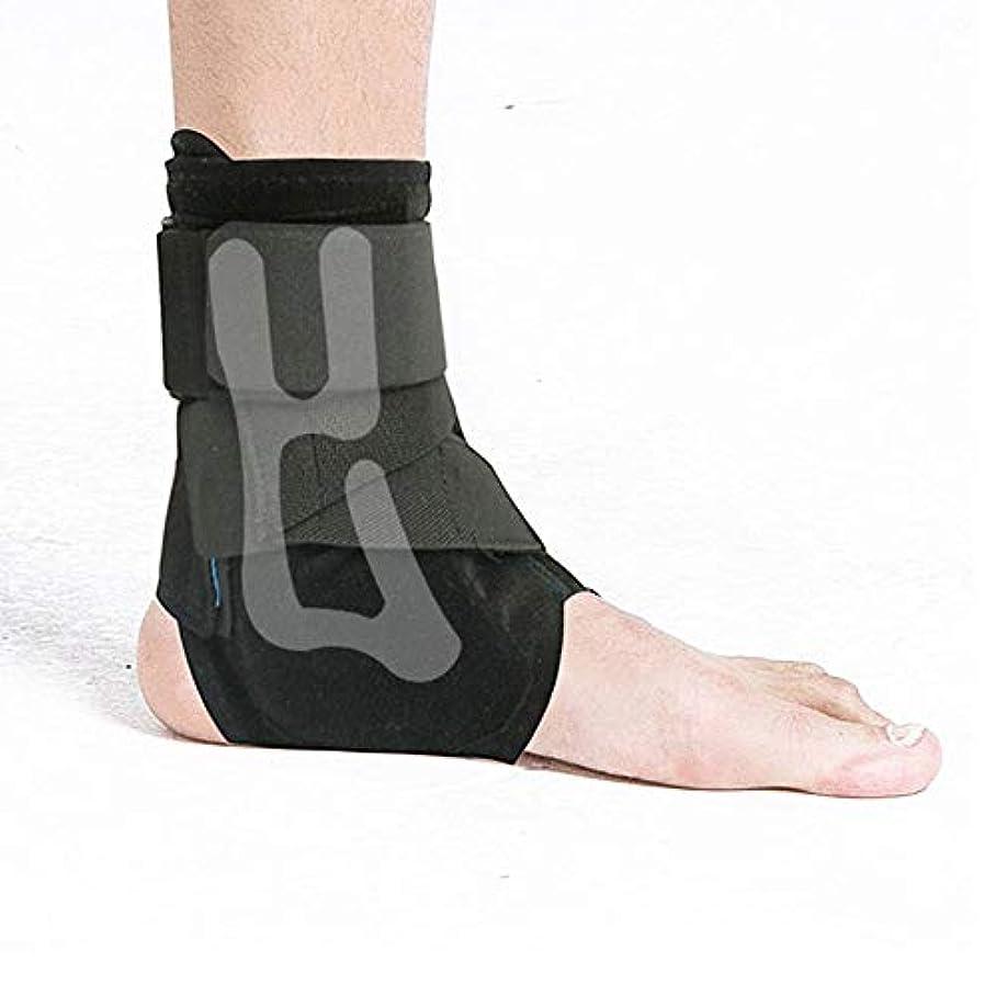 純粋に口述する有毒な捻rainされた足首装具調節可能な通気性の足首サポート血液循環の増加男性と女性の腫れの減少(1ペア)