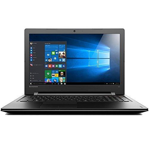 【KINGSOFT Officeセット】Lenovo ideapad300 80M300NWJP Windows10 Home 64bit Celeron 4GB 500GB DVDスーパーマルチ 高速無線LANac/a/b/g/n Bluetooth webカメラ USB3.0 HDMI 10キー付キーボード ステレオスピーカー搭載 15.6型LED液晶ノートパソコン (Office同梱型(KINGSOFT Office))