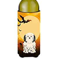Carolines Treasures BB4285LITERK Halloween Lowchen Wine Bottle Beverge Insulator Hugger