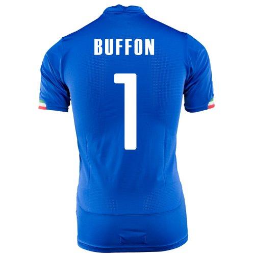 PUMA BUFFON #1 ITALY HOME JERSEY WORLD CUP 2014/サッカーユニフォーム イタリア代表 レプリカ・ホーム用 ワールドカップ32014 背番号1 ブッフォン (M)