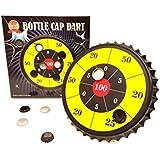 ' barwenchゲーム'ボトルキャップダーツパーティーゲーム、ボトルキャップMagnetic Dart Board