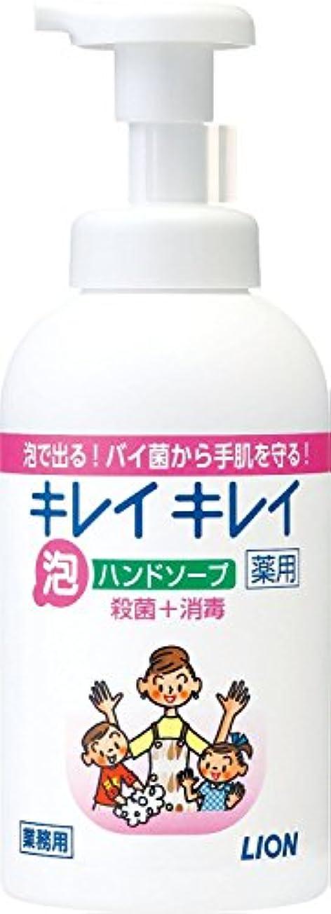引き潮続編三角【まとめ買い】キレイキレイ 薬用 泡ハンドソープ 550ml ×12個セット