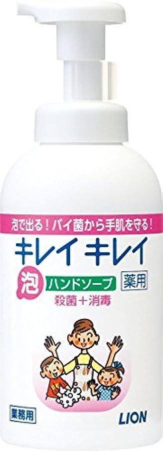 狐文字プレゼンター【まとめ買い】キレイキレイ 薬用 泡ハンドソープ 550ml ×12個セット