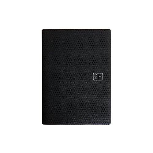 ロンド工房 手帳 2018年 11月始まり ウィークリー A6 ブラウニー手帳 ブラック B18101