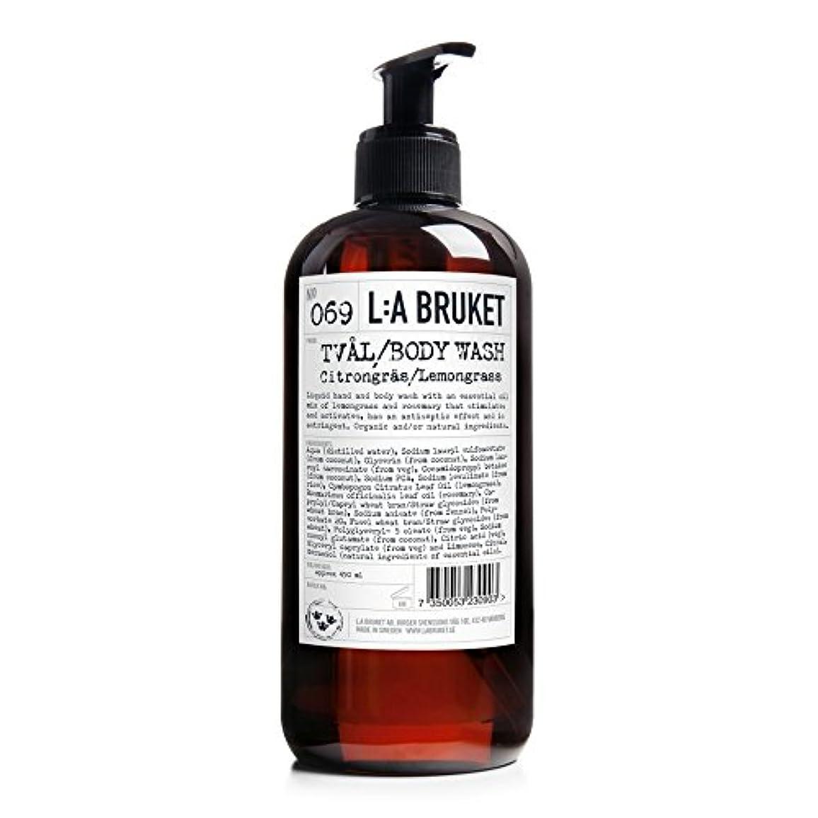 わざわざ白雪姫輸血L:A Bruket Lemongrass Liquid Soap 450ml - :レモングラス液体石鹸450ミリリットル [並行輸入品]