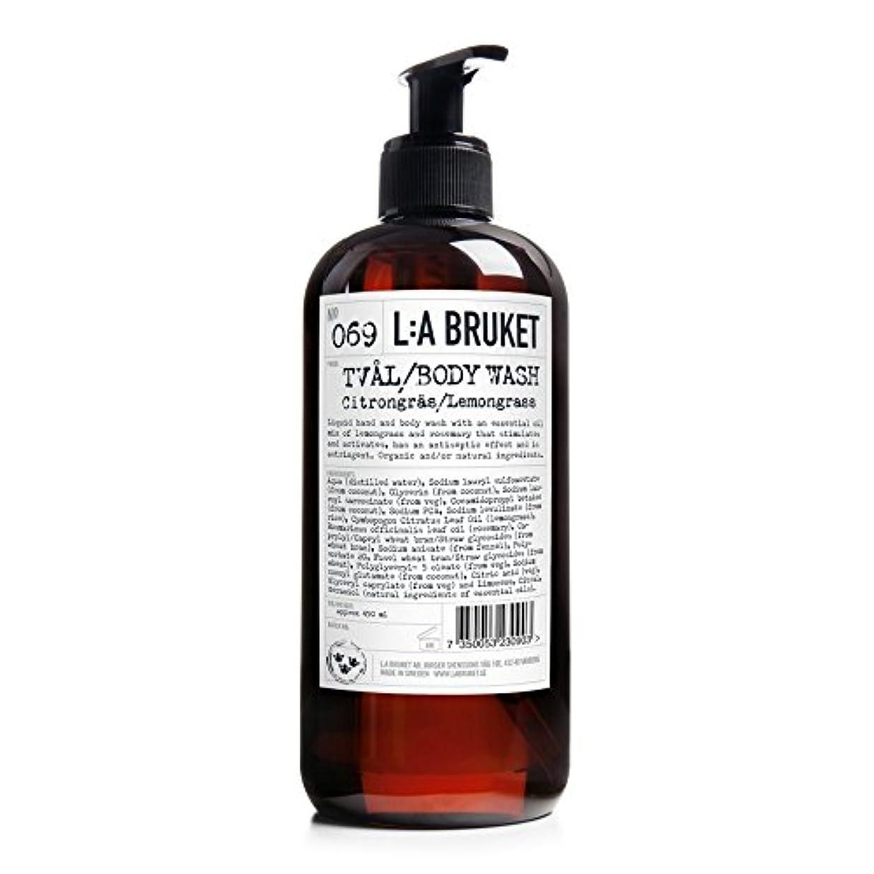 クライマックスガジュマルL:A Bruket Lemongrass Liquid Soap 450ml - :レモングラス液体石鹸450ミリリットル [並行輸入品]