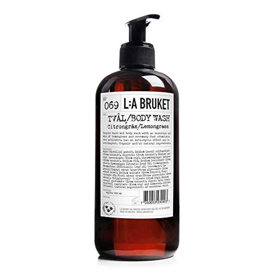 請願者オフェンス達成するL:A Bruket Lemongrass Liquid Soap 450ml - :レモングラス液体石鹸450ミリリットル [並行輸入品]