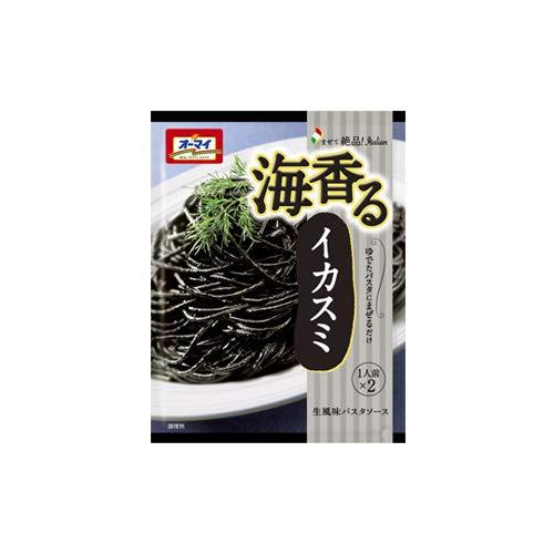 [オーマイ] まぜて絶品 海香るイカスミ 60g x48個セット(パスタソース)